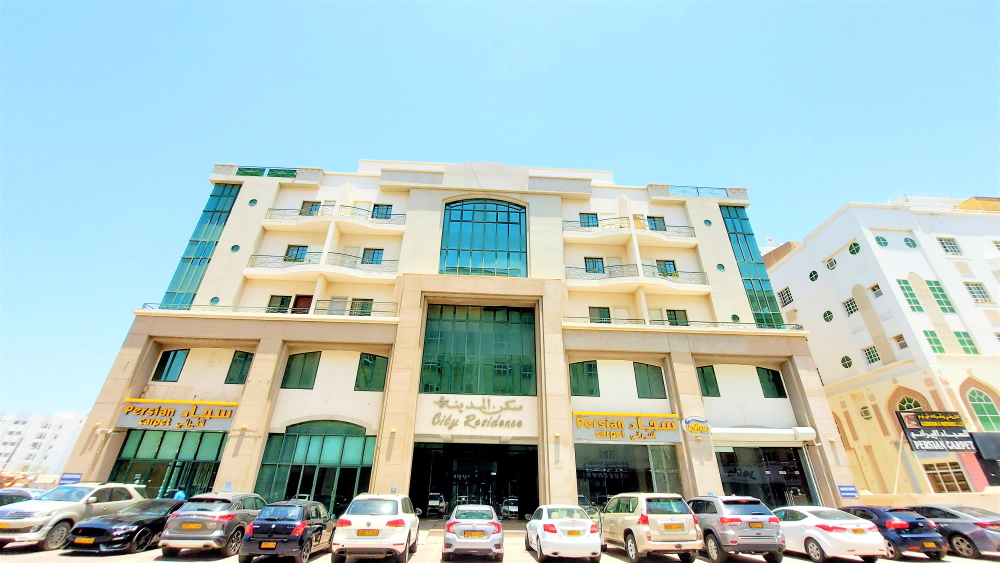 """You are currently viewing City Residency <br><span class=""""headlin"""">Al Khuwair, Muscat, Oman</span><br><span class=""""headlin2"""">Category: 1/2/3 Br Apartments/Office Space – For Rent</span>"""